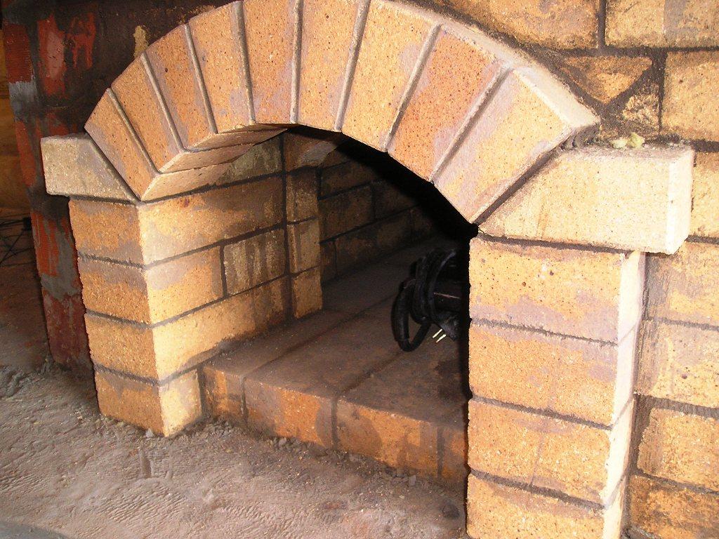 Как сделать арку из кирпича у мангала